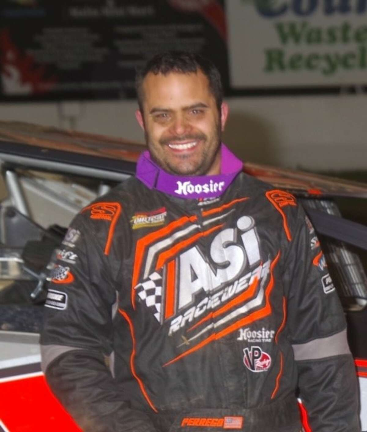 Race car driver Anthony Perrego. (Courtesy of Mark Brown Photography)
