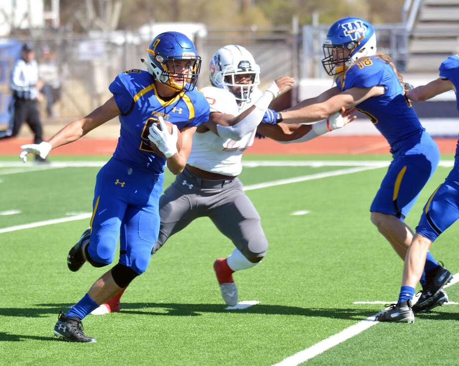 Receiver/return man Daniel Hurn is one of the key returners for the Wayland Baptist football team that begins the fall portion of the season on Saturday. Photo: Nathan Giese/Planview Herald