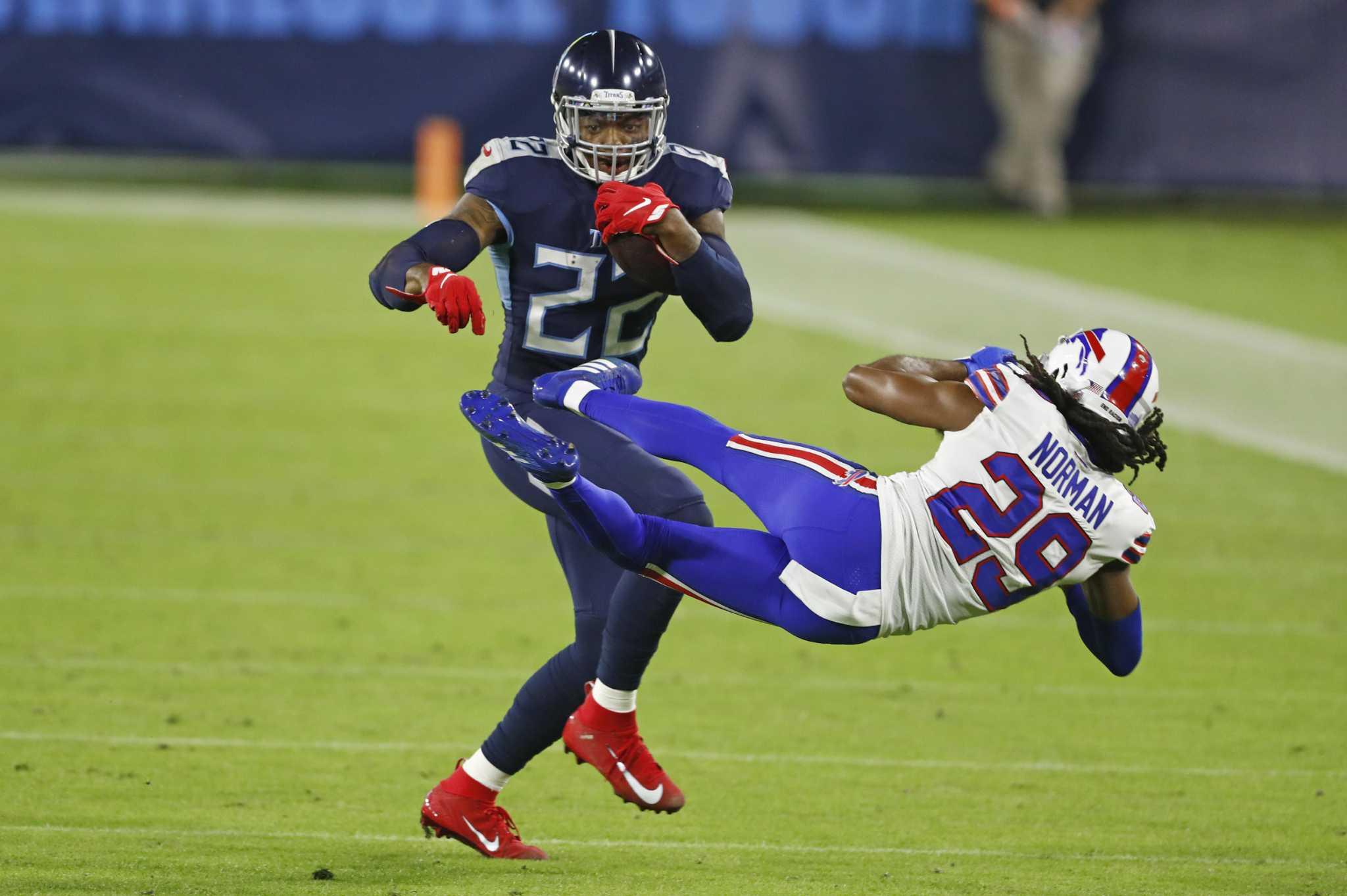 Texans know Titans' offense revolves around Derrick Henry - HoustonChronicle.com