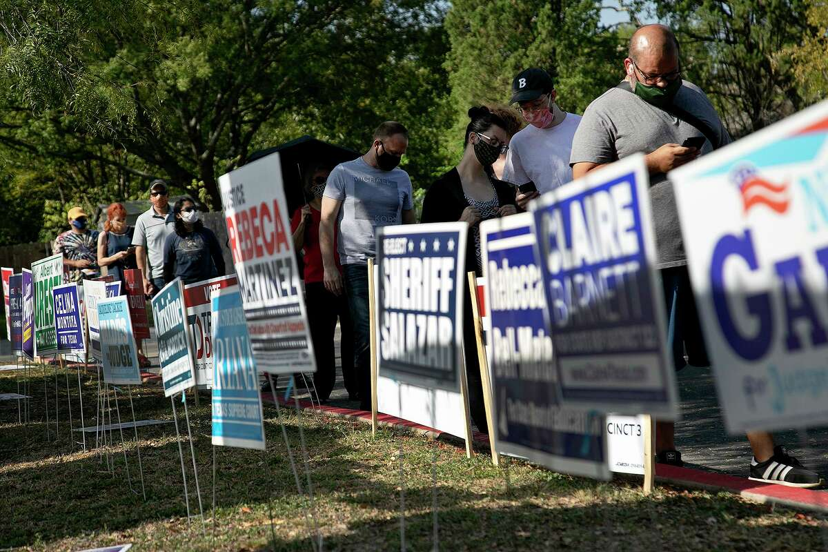Voters turned out in record numbers in San Antonio and beyond. Disappointed about the outcome? Keep working at change.