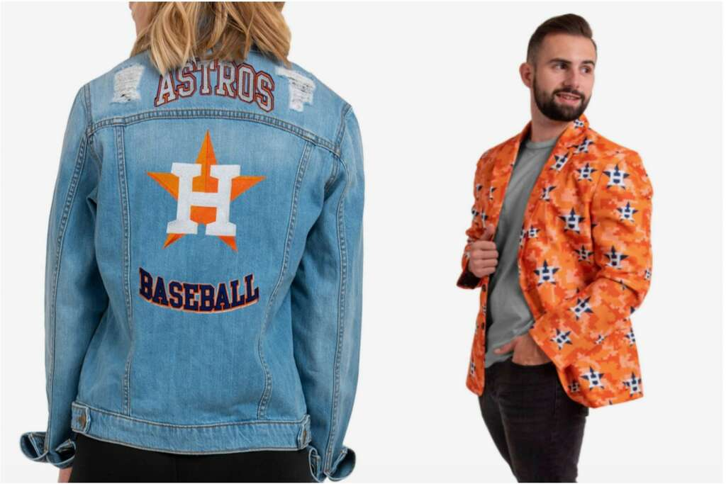 Astros apparel at FOCO captures style and fandom. Want to see more Sports apparel? Visit the Chron Shopping channel.
