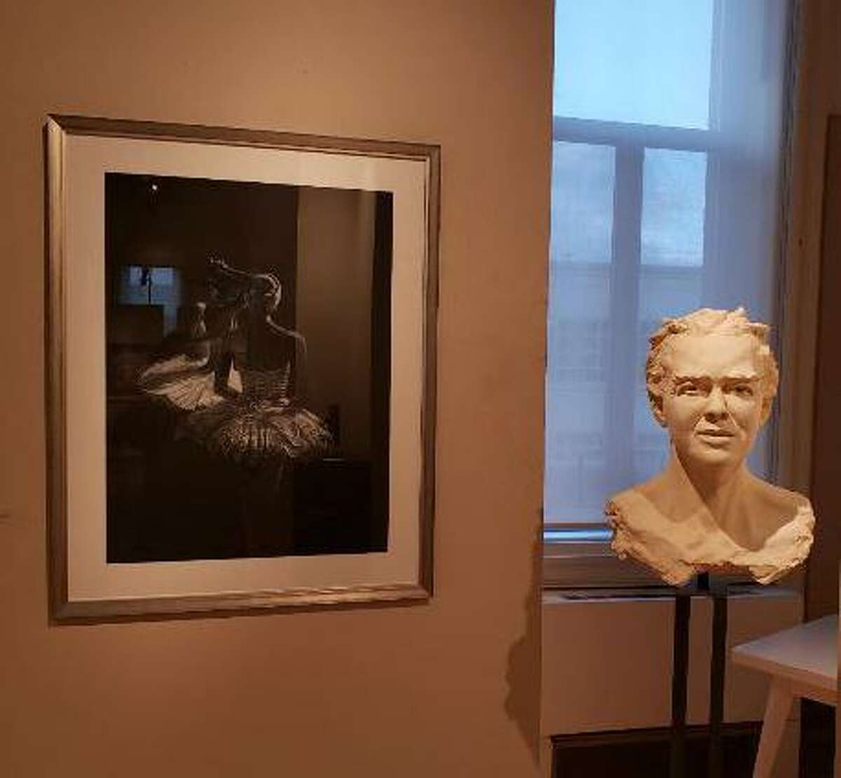 The Greenwich Art Society will offer in-person tours of the annual Bendheim Exhibit on Saturday, Oct. 17. Visitors are asked to be patient and wait outside while the gallery staff manages moving the groups in and out of building. The 103rd annual juried exhibition can also be viewed in a special online viewing room/virtual gallery space on the society's website. It is on display through Oct. 24 at the Bendheim Gallery.