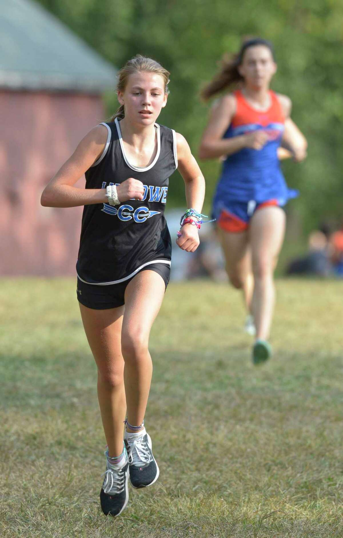 Fairfield Ludlow's Anna Keeley finished eighth in a meet last season.