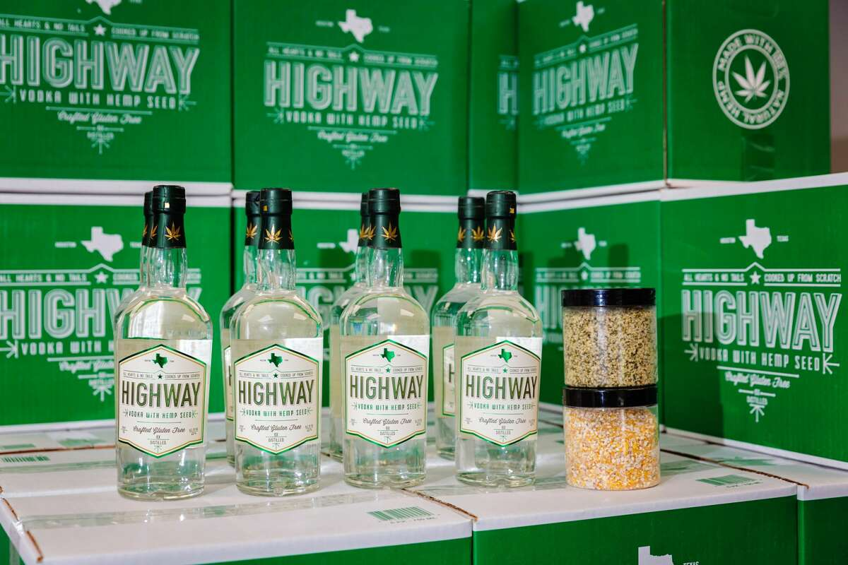 Highway Vodka is Houston-based.