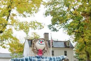 The Keeler Tavern Museum will be hosting a scarecrow contest during this year's Fall in Love with Ridgefield starting Saturday, October 17, 2020 in Ridgefield, Conn. Due to COVID-19 precautions voting will be online.