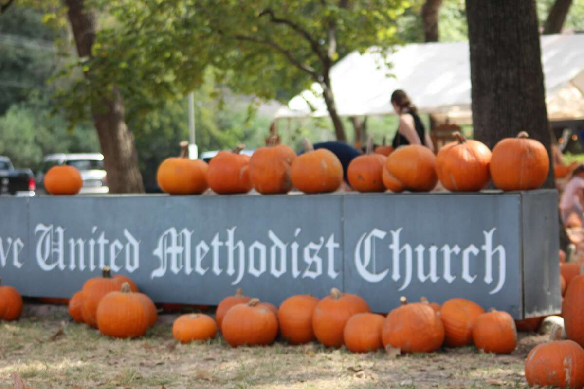 The Memorial Drive United Methodist Church's annual pumpkins sale is on track for a record amount of pumpkin sales by rasiing over $50,000 in only 11 days.