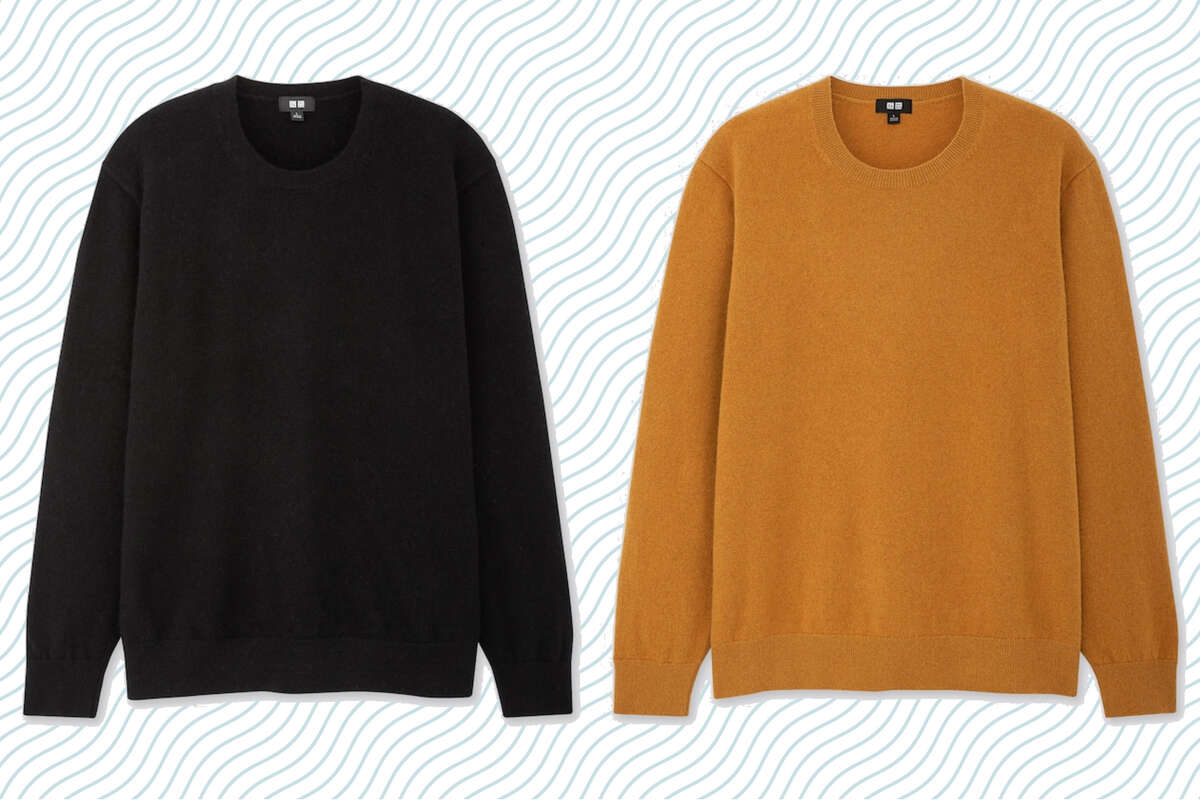 Men's Cashmere and Women's Cashmere, $59.90 at Uniqlo