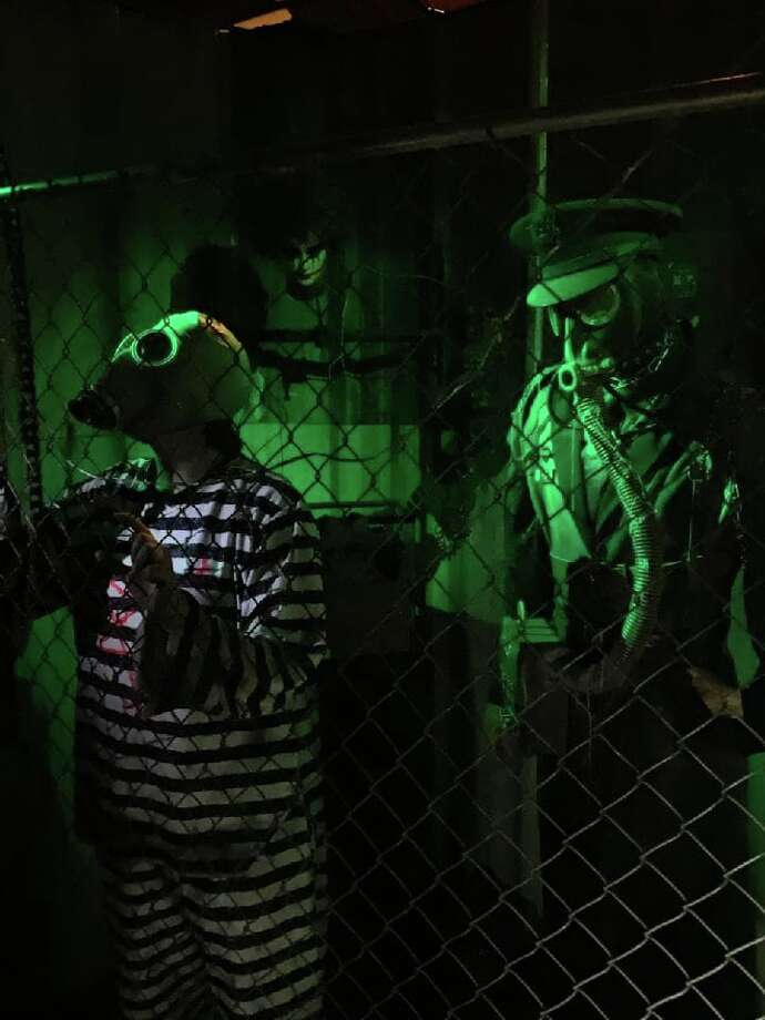 The Blackness Haunted House is open through the end of October. Photo: Provided By Rigo Rey/The Blackness Haunted House