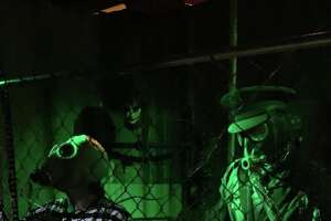 The Blackness Haunted House is open through the end of October.