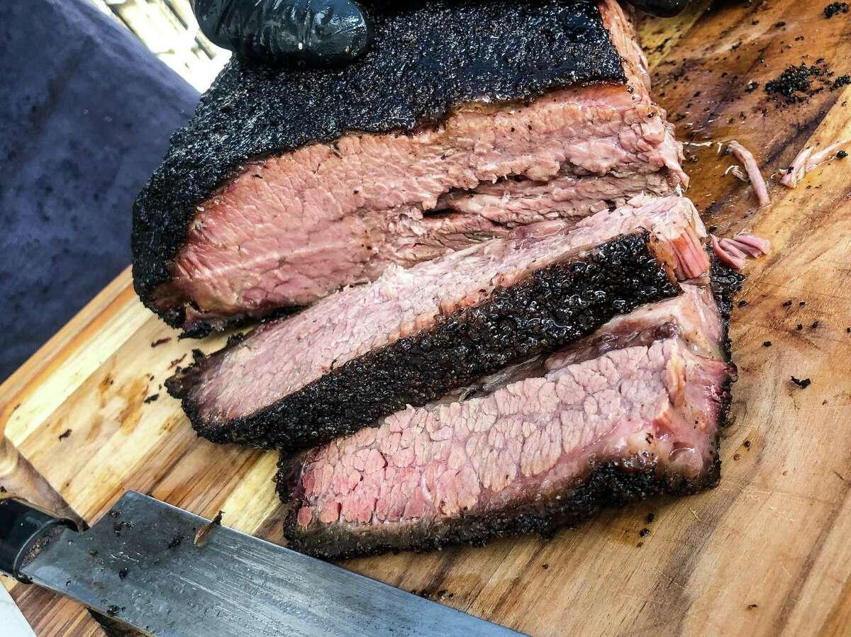 Khoi Barbecue brisket
