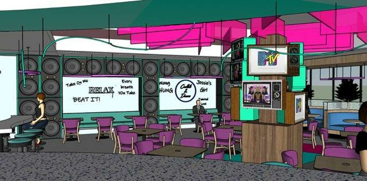 The '80s themed diner will open at 920 Studemont before year-end.