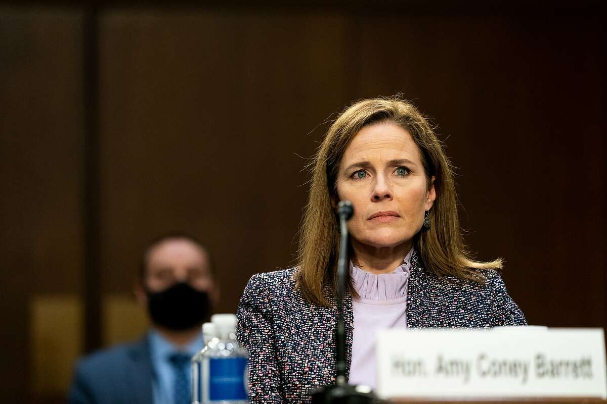 Supreme Court nominee Amy Coney Barrett steadfastly refused to talk about potential cases during her confirmation hearings this week.