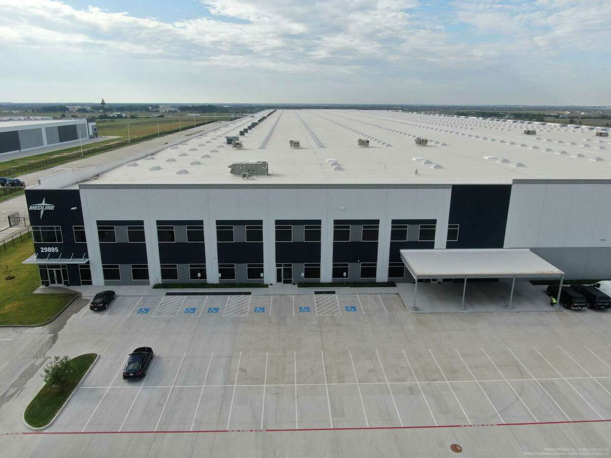 The new Medline PPE distribution center is scheduled to open next year.