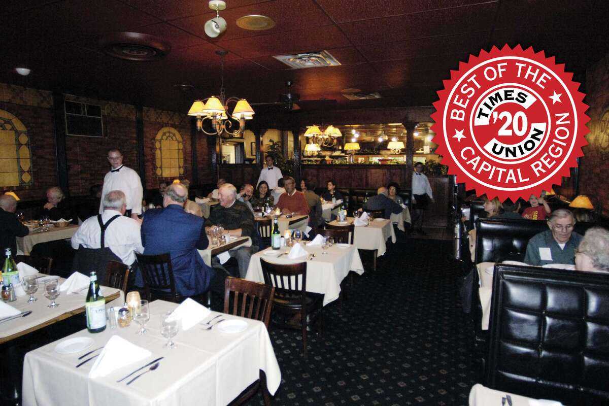 Best Italian restaurant (single location)  1. D'Raymonds 269 Osborne Road, Loudonville | Website