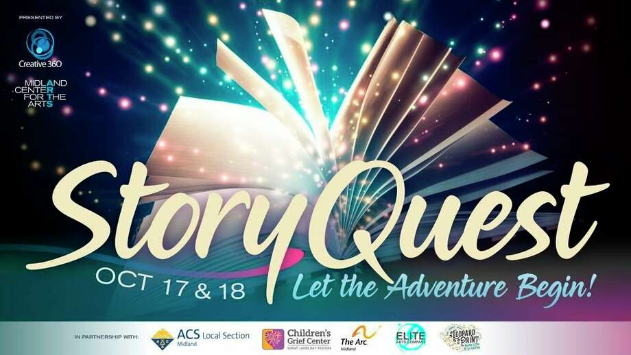 Oct. 17-18: StoryQuest: Let the Adventure Begin, by appointment, is scheduled from 2 to 5 p.m. each day at Creative 360 in Midland. Midland Center for the Arts is a co-sponsor.(Photo provided/Midland Center for the Arts)