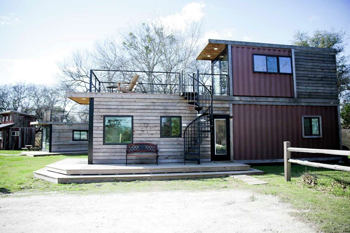 According to AirBnB, one of the top shipping container rentals of 2019 was the Mainhelm style, run by VillaStays in Waco, Texas on Wednesday, Feb. 26, 2020. A startup in Waco is trying to encourage people who have never invested in real estate to put their money into tiny homes.