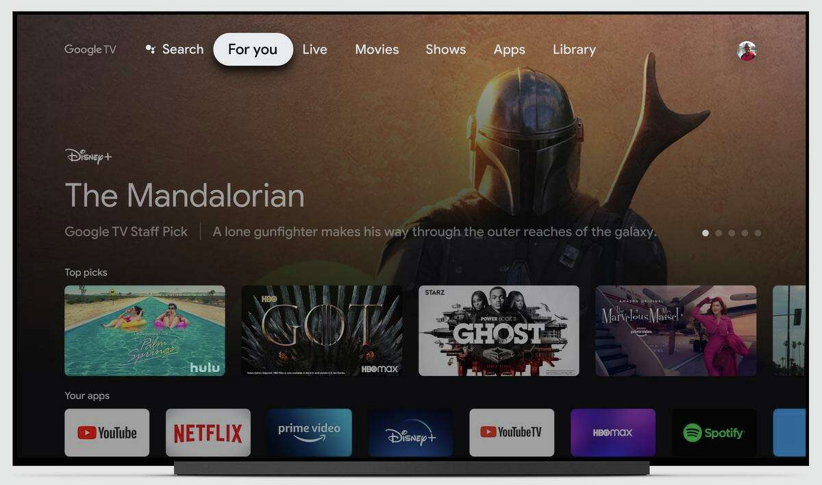 Previous Chromecast models required you to stream content from your smartphone to the device. But the new Chromecast with Google TV has an onscreen guide, just like its competitors.