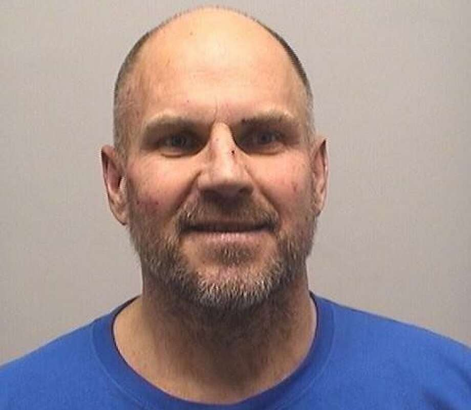 Richard Palkimas, 53, of Stamford was charged with intimidation based on racial bias and reckless endangerment in connection with an incident that happened at Cove Island Park earlier in August, according to police. Photo: Stamford Police Department / Contributed