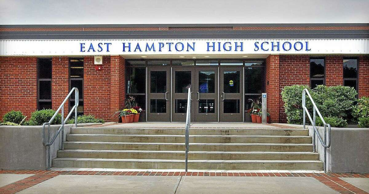 East Hampton High School is located at 15 No. Maple St.