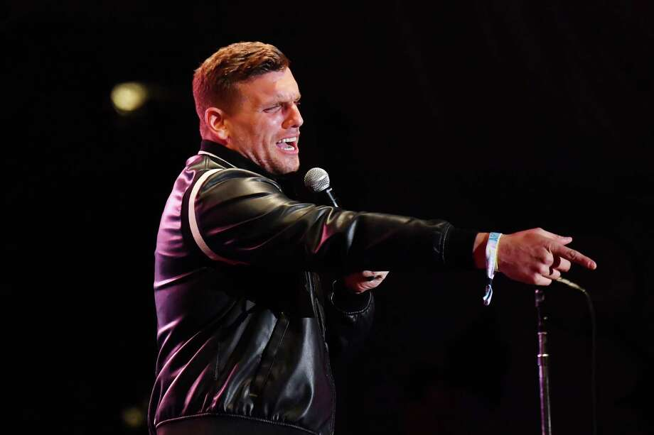 AT THE CLUB: New York comic Chris Distefano will perform at the Fairfield Comedy Club, Wall Street Theater, 71 Wall St., Friday Oct. 23, 8 p.m. $25. Photo: Jeff Kravitz /FilmMagic For Clusterfest / Getty Images / 2019 Jeff Kravitz