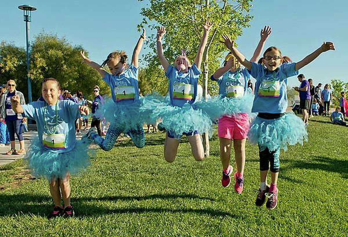 """GIRLS ON THE RUN: Girls on the Run Greater Hartford and Ballet Theatre Company of West Hartford will partner to deliver """"Together We Move"""" at 1 p.m. Saturday, Oct. 24, a fun and engaging experience for girls ages 8-12 that celebrates the power of individuality, connection and movement. The physical activity-based youth development event will be led by BTC's ballet and Girls on the Run coaches who will facilitate fun activities, dynamic discussions, games, and movement exercises. The afternoon will culminate with participants learning a Halloween inspired dance, showcasing their new skills, new friendships and new moves. The event will be from 1-4 p.m. at Fernridge Park in West Hartford. Registration is free of charge at Gotrgreaterhartford.org"""