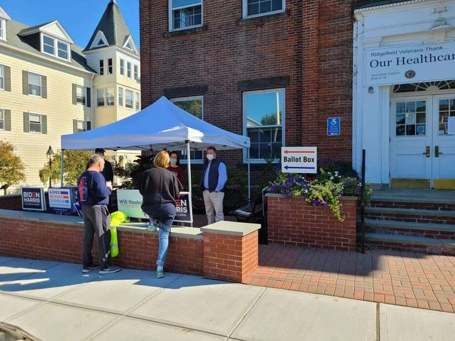 DTC Headquarters at Town Hall. Photo: Photo Contributed By The Ridgefield Republican Town Committee