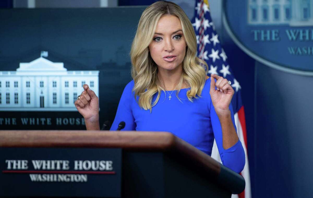 US President Donald Trump rebuked Facebook and Twitter on October 14, 2020 for blocking links to a New York Post article purporting to expose corrupt dealings by election rival Joe Biden and his son in Ukraine. At a rally later in Iowa, Trump said his press secretary Kayleigh McEnany's Twitter account was blocked after she shared the Post story.