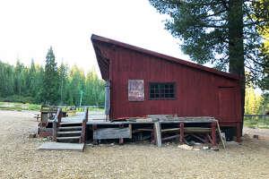 The lodge at the Johnsville Historic Ski Bowl.