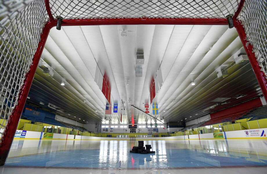 Terry Conner's Rink in Stamford is seen in March. The CIAC set a framework for winter sports seasons, 'solely for scheduling purposes' on Thursday. Photo: Matthew Brown / Hearst Connecticut Media / Stamford Advocate
