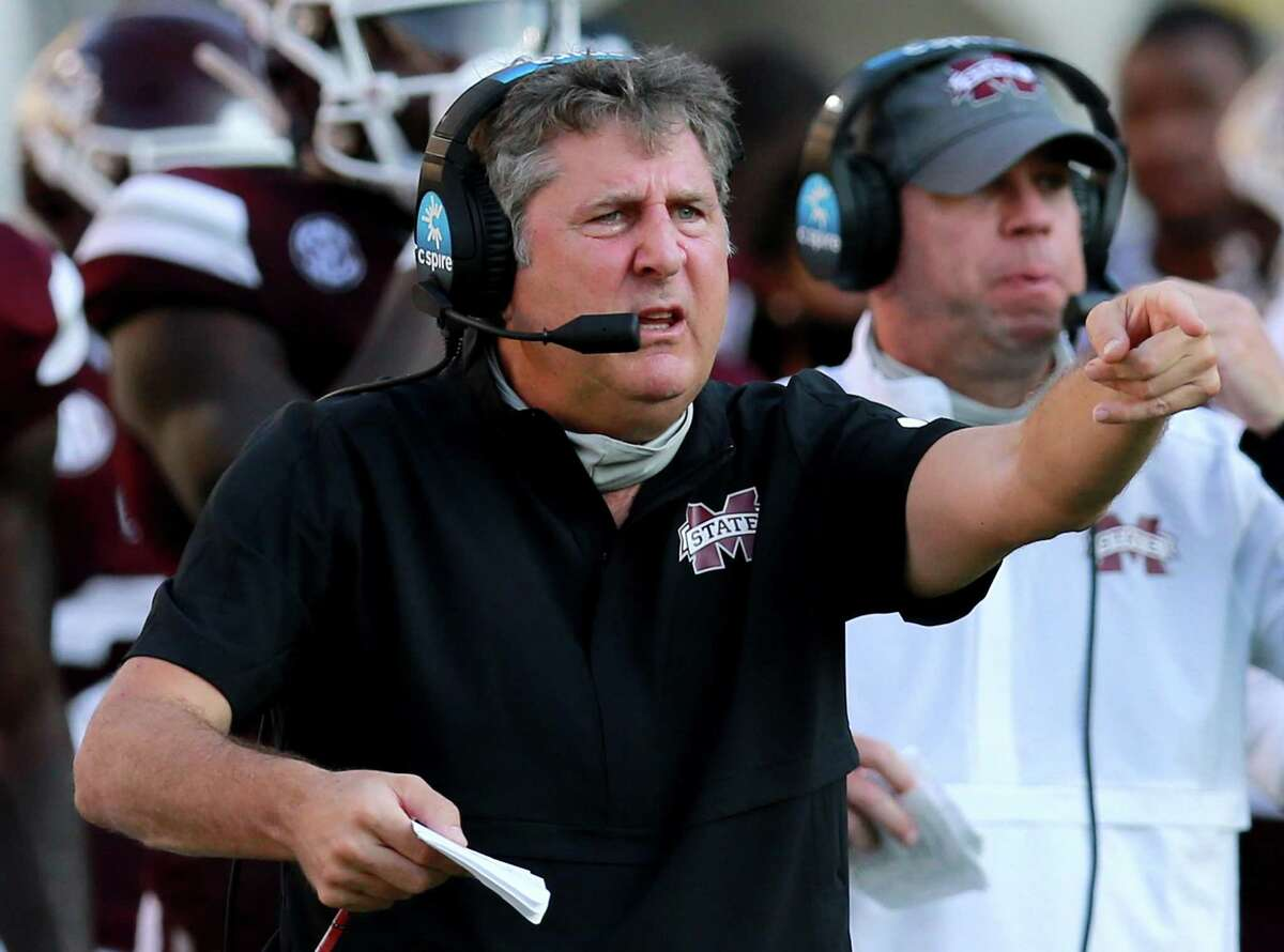 Mike Leach coached Mississippi State past defending national champion LSU in his debut with the Bulldogs, who have since lost to Arkansas and Kentucky.