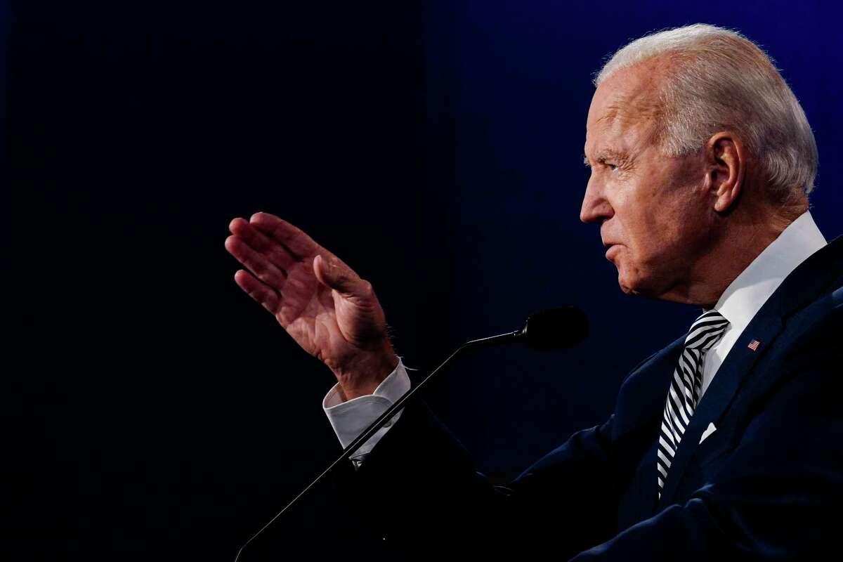 Democratic nominee Joe Biden.