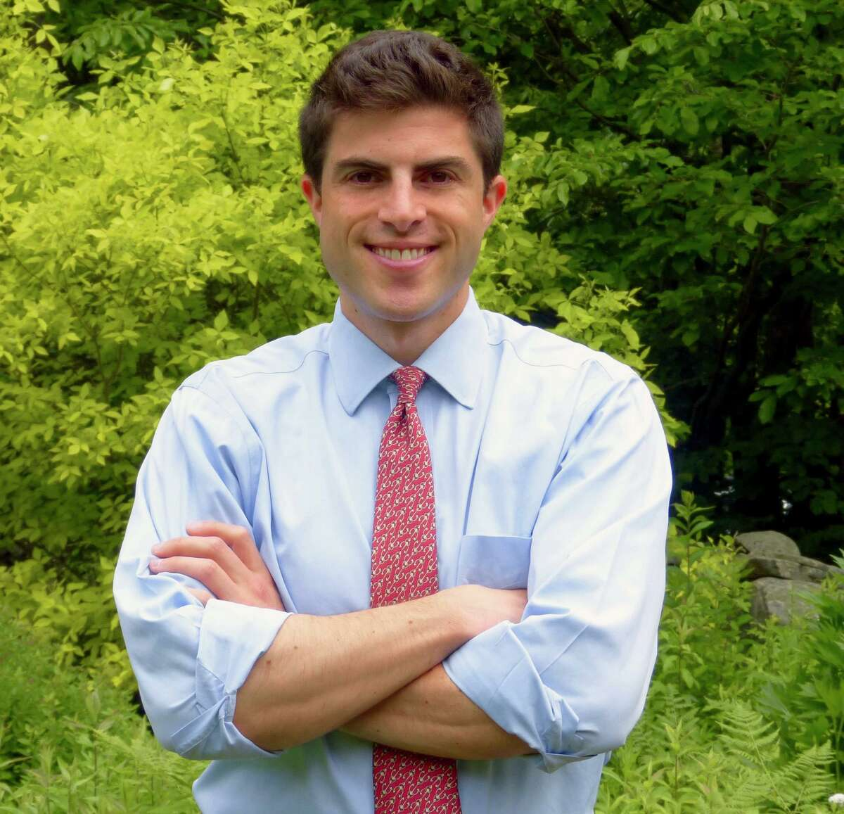 Matthew Blumenthal, Democratic candidate for the House of Representatives 147th District seat, Stamford.