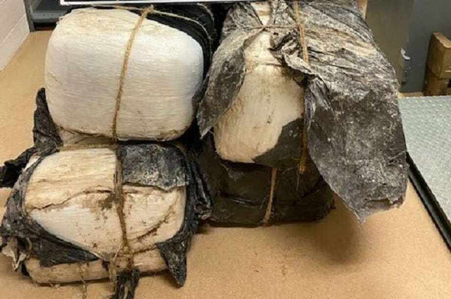U.S. Border Patrol agents stopped the smuggling attempt of these 298 pounds of marijuana. Photo: Courtesy Photo /U.S. Border Patrol