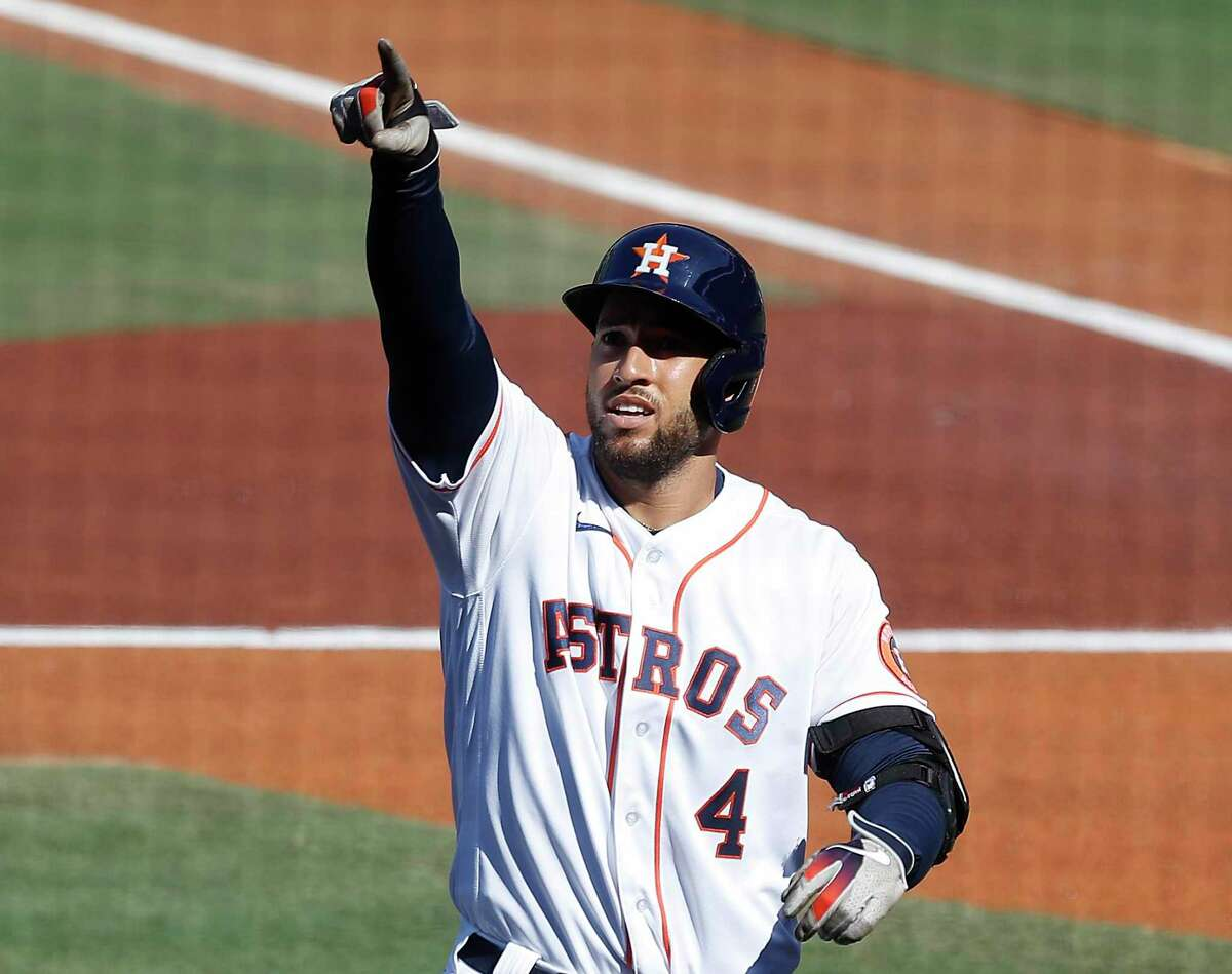 George Springer declined the Astros' one-year, $18.9 million qualifying offer on Wednesday.