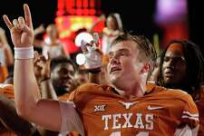 """Sam Ehlinger grew up in burnt orange, but many of his teammates have far different feelings about the """"Eyes of Texas."""""""