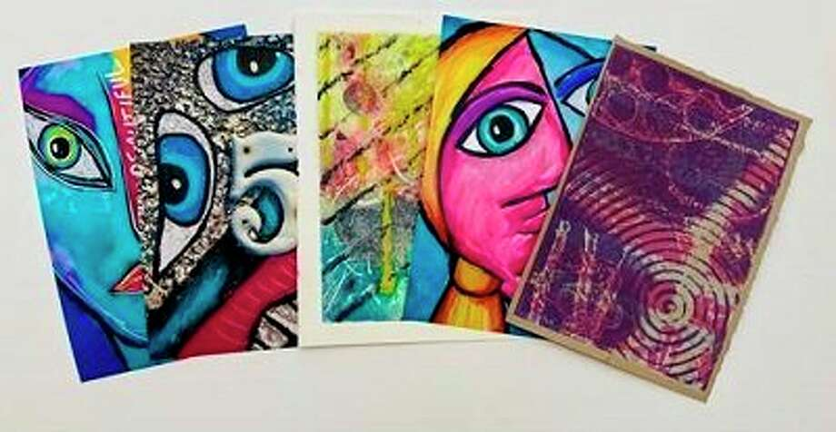 These are some examples of Mail Art that was submitted. (Provided Photo)