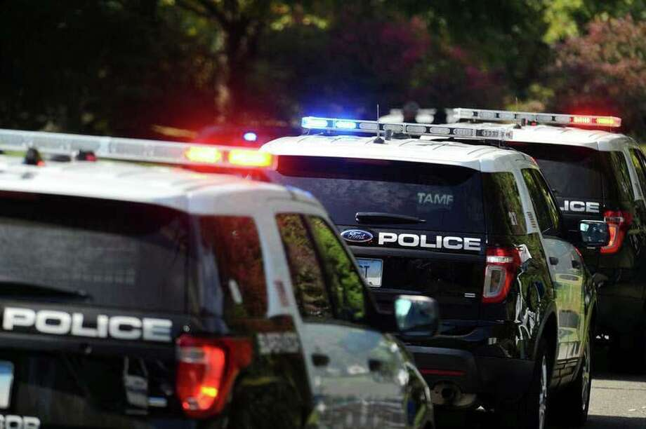 File photo of Stamford, Conn., police cruisers. Photo: Hearst Connecticut Media / Hearst Connecticut Media / Connecticut Post
