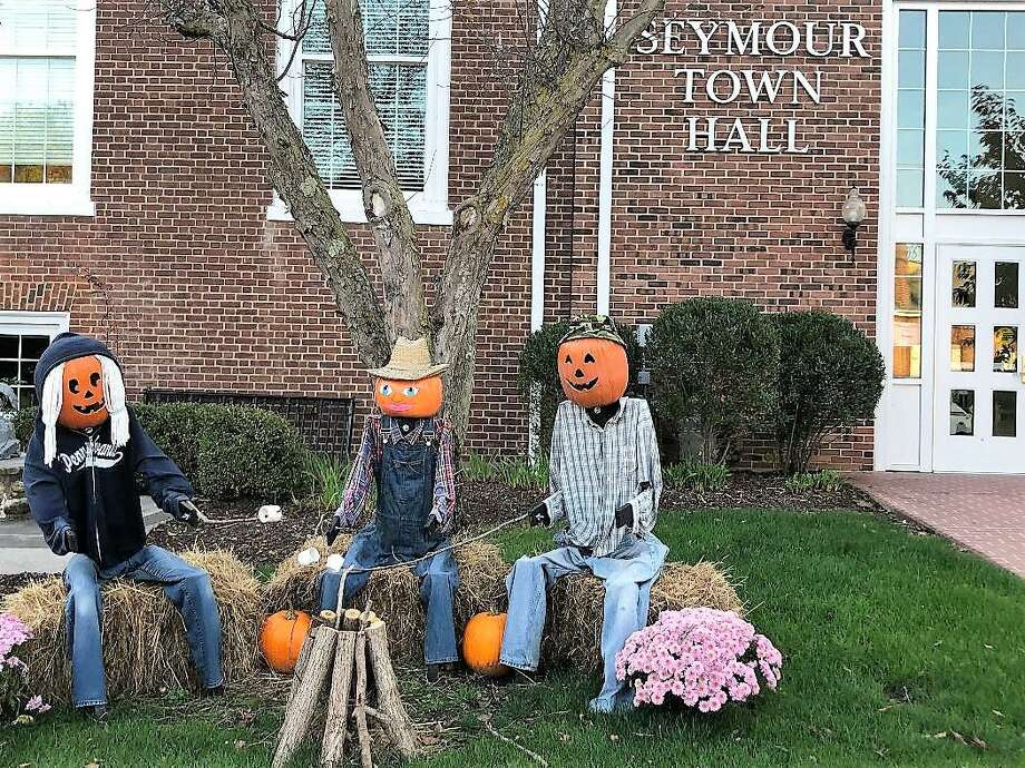 More than 40 scarecrows have invaded downtown Seymour and beyond to usher in the fall season. Photo: Jean Falbo-Sosnovich