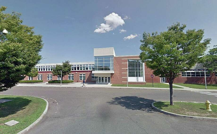 A file photo of the Brien McMahon High School in Norwalk, Conn. Photo: Contributed Photo / Google Streetview /