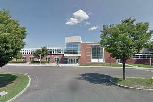 A file photo of the Brien McMahon High School in Norwalk, Conn.