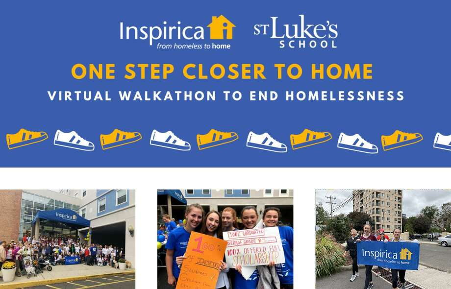 The St. Luke's One Step Closer to Home Walkathon to benefit Inspirica raised more than $11,500 to help end homelessness. Photo: St. Luke's School / Contributed Photo