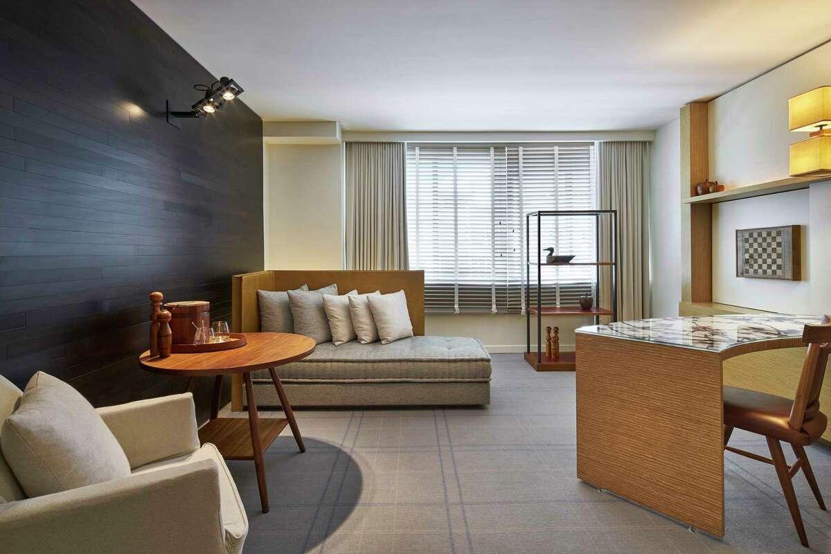 A junior suite at the Park Hyatt in Washington, D.C.