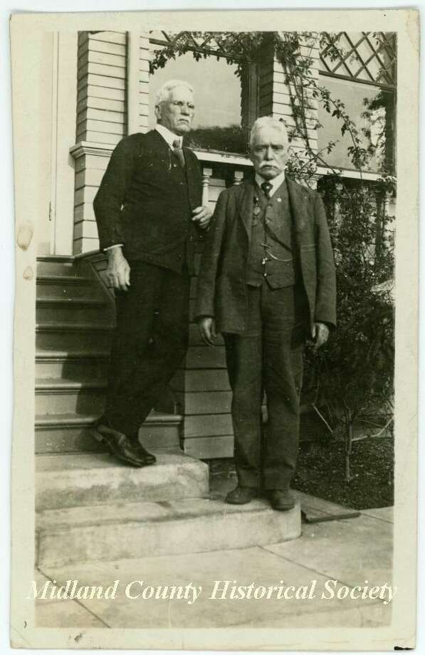 William and James Reardon on Christmas Day 1920. (Photo provided)