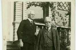 William and James Reardon on Christmas Day 1920. (Photo provided)