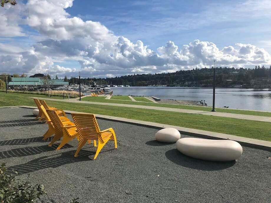 Seattle's charming new waterfront park on Portage Bay officially opened on Oct. 14, 2020. Photo: Seattle Parks And Recreation