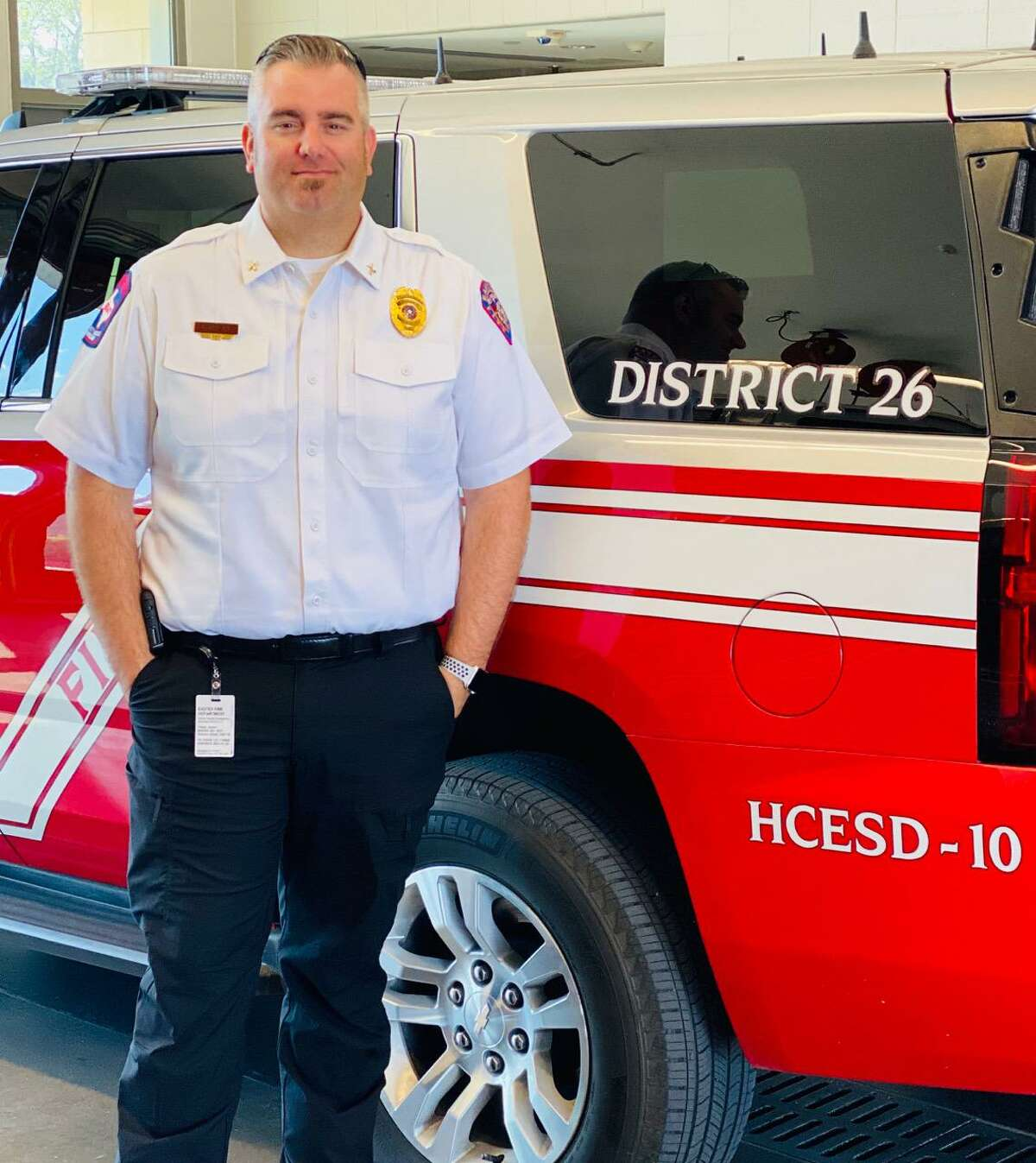Jason Tharp is chief of community risk reduction for Harris County Emergency Services District No. 48.
