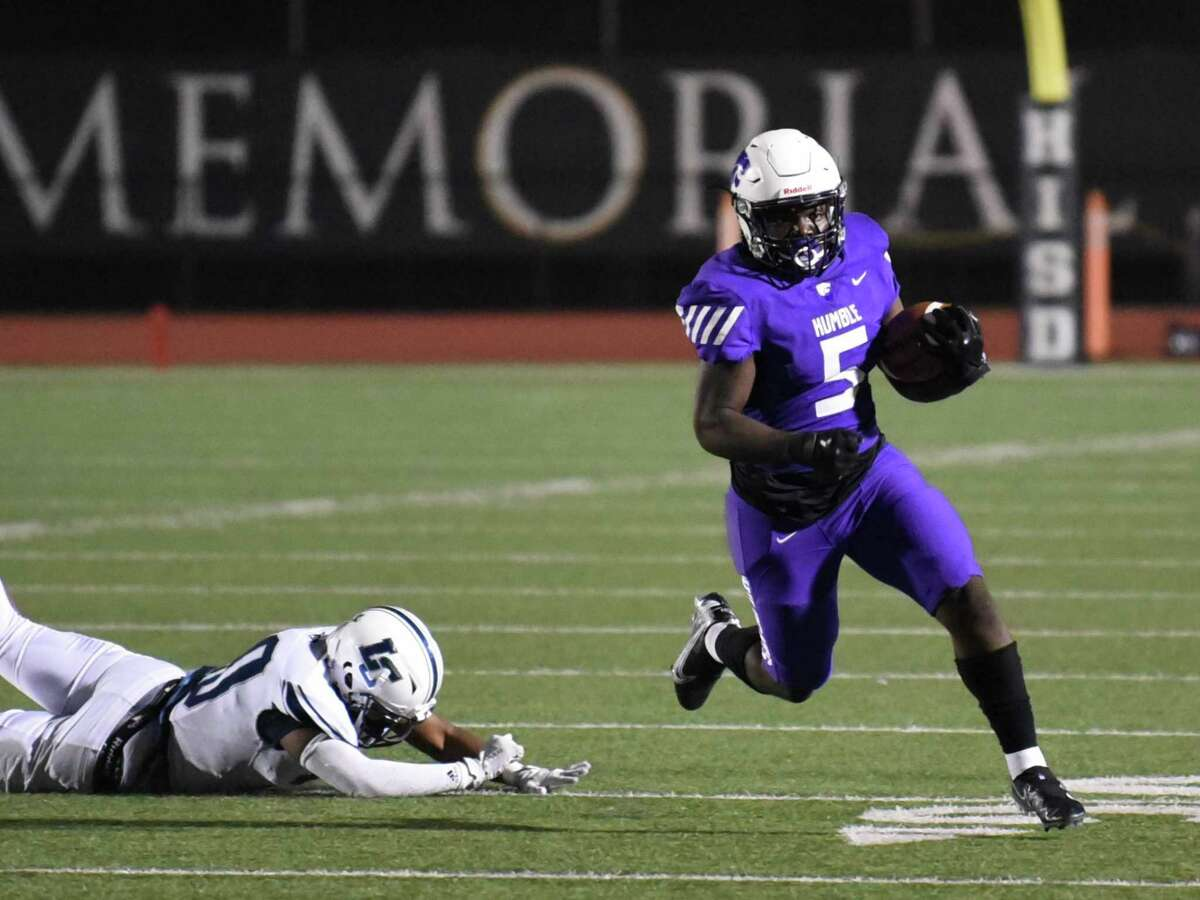 Humble running back X'Zavier Sydney had 31 carries for 176 yards and two touchdowns for the Wildcats in their 24-21 win over Lamar Consolidated.