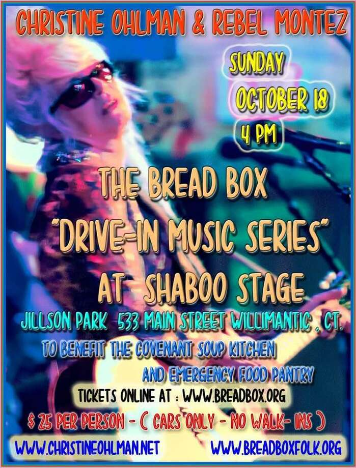 "The newly-founded New England Music Hall of Fame will induct four people -- David ""Lefty"" Foster, Christine ""The Beehive Queen"" Ohlman, pictured here, Cliff Goodwin and Shaboo Inn co-founder Bruce John -- at the outdoor Shaboo Stage in Willimantic on Sunday, Oct. 18, 2020 as part of the Bread Box Theater's ""Drive-In Concert Series."" The induction and concert is a charity fundraiser for the Covenant Soup Kitchen. Showtime is 4 p.m. Tickets are $25, available at https://bit.ly/3nNWXLz. The Shaboo Stage is in Jillson Park, 533 Main St. in Willimantic. Photo: New England Music Hall Of Fame / Contributed /"