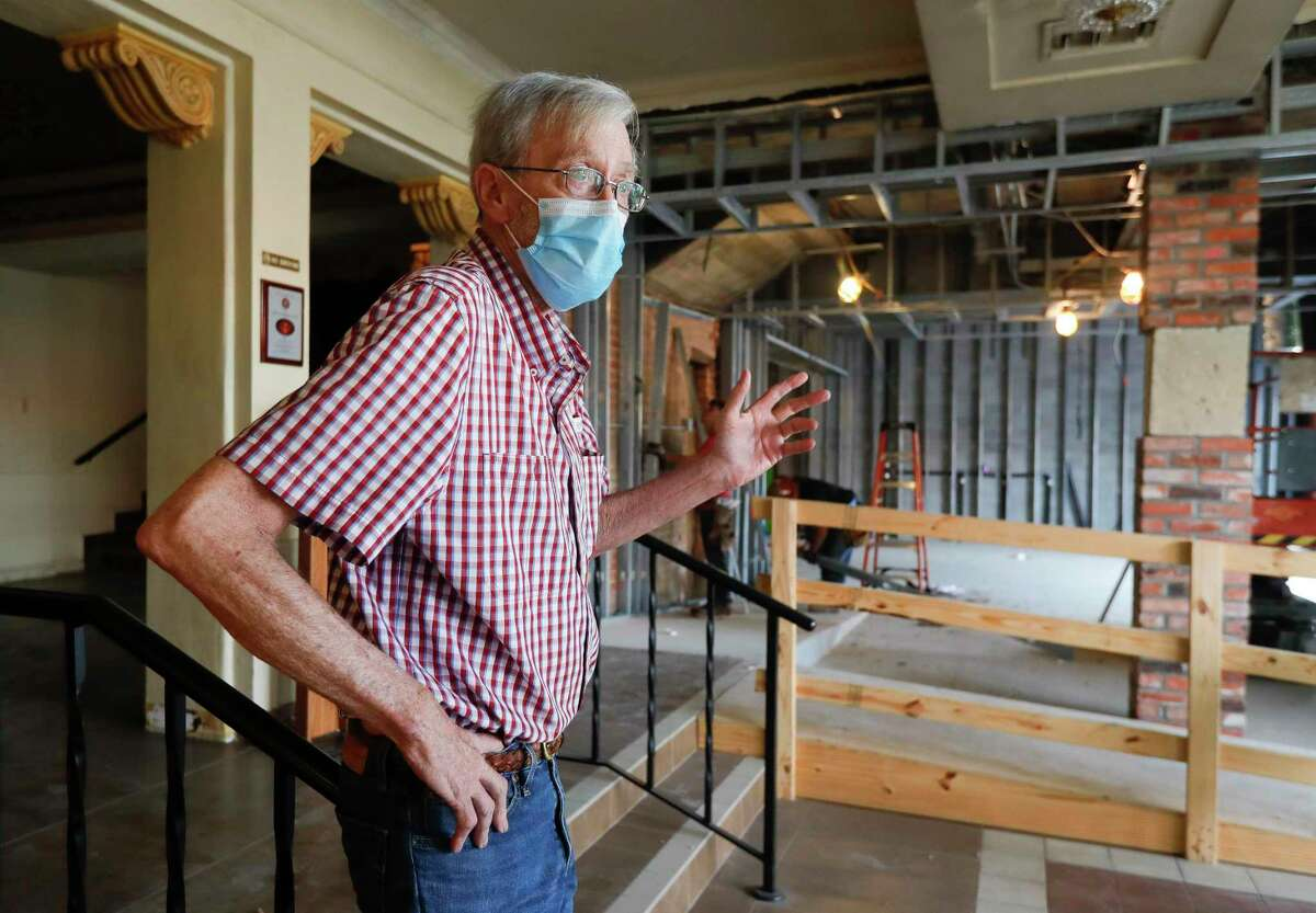 Crighton Theater manager Jim Bingham talks about the $1.1 million renovations to the historic downtown venue, which includes updates and expansion of the lobby, additional restrooms and rebuilding the Muse building.
