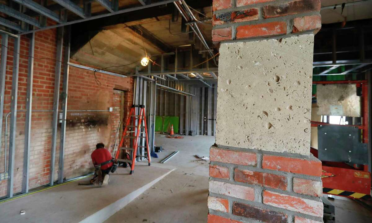 The historic Crighton Theater is undergoing a $1.1 million renovation, which includes updates and expansion of the lobby, additional restrooms and rebuilding the Muse building.